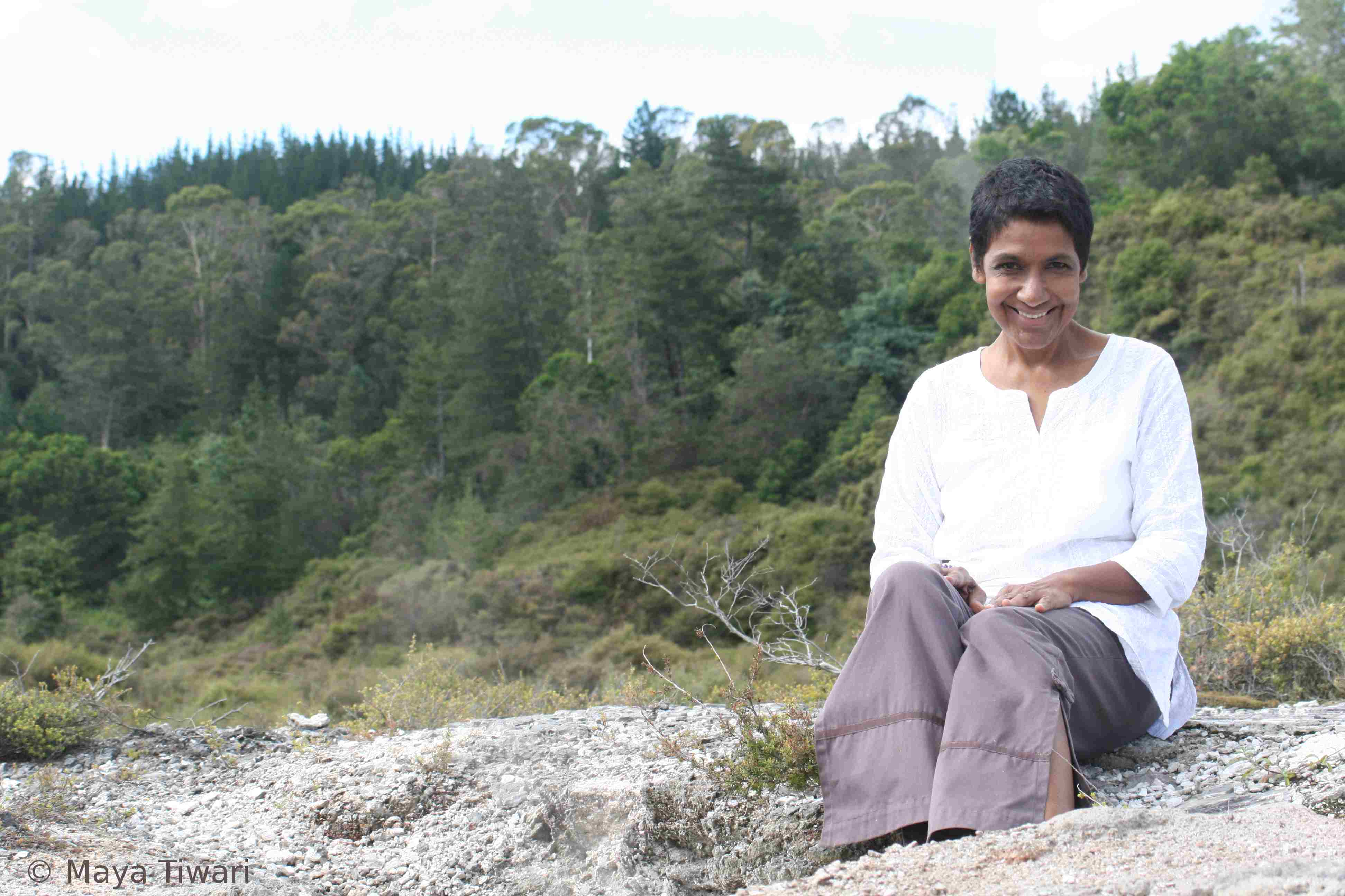 Mata Tiwari in Rotoria, New Zealand 2012